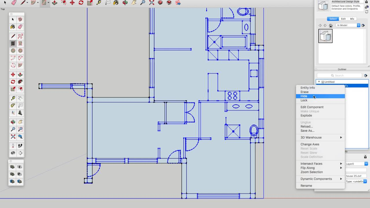 How to convert 1 100 scale house plans from adobe for Convert image to blueprint online