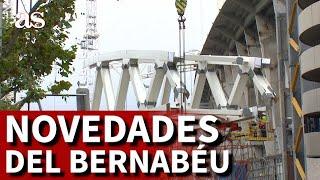 REAL MADRID | Las impactantes estructuras que colocan en el SANTIAGO BERNABÉU | Diario AS