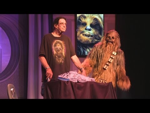 Peter Mayhew celebrates 70th birthday during Stars of the Saga  at Star Wars Weekends 2014