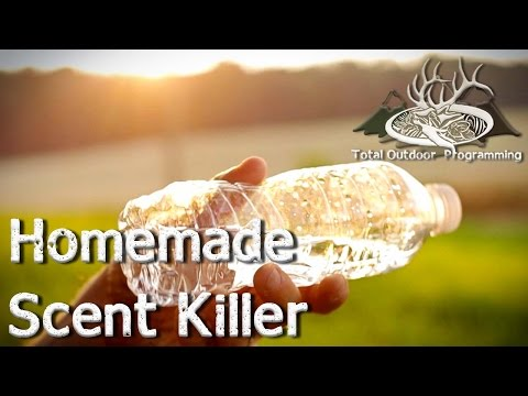 How to make homemade Scent Killer Spray for Hunting Deer, Hogs and Coyote (DIY)