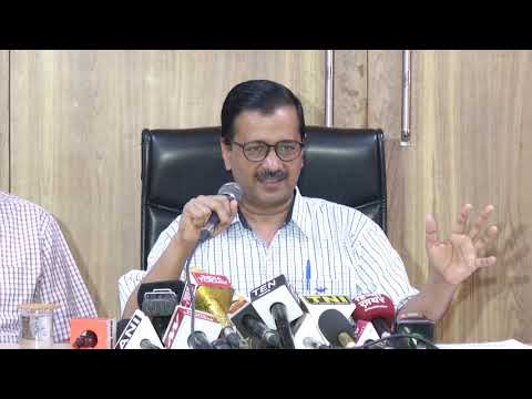 Delhi CM Arvind Kejriwal Briefs Media on BJP Govt's Amendment to Electricity Subsidy and Rates