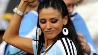 أحلى المشجعات الأرجنتينيات الجميلات جدا في مونديال البرازيل