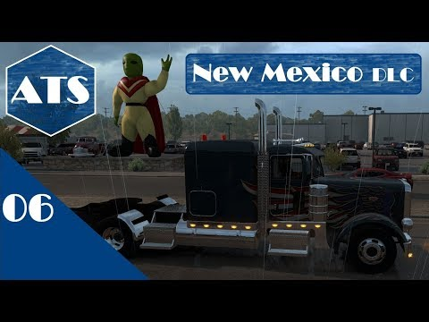 American Truck Simulator | DLC New Mexico #6 Gifts to Deliver
