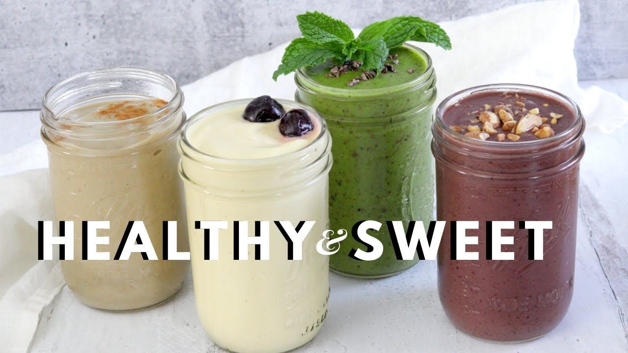 4 Smoothie Recipes That Taste Like Dessert  🍧