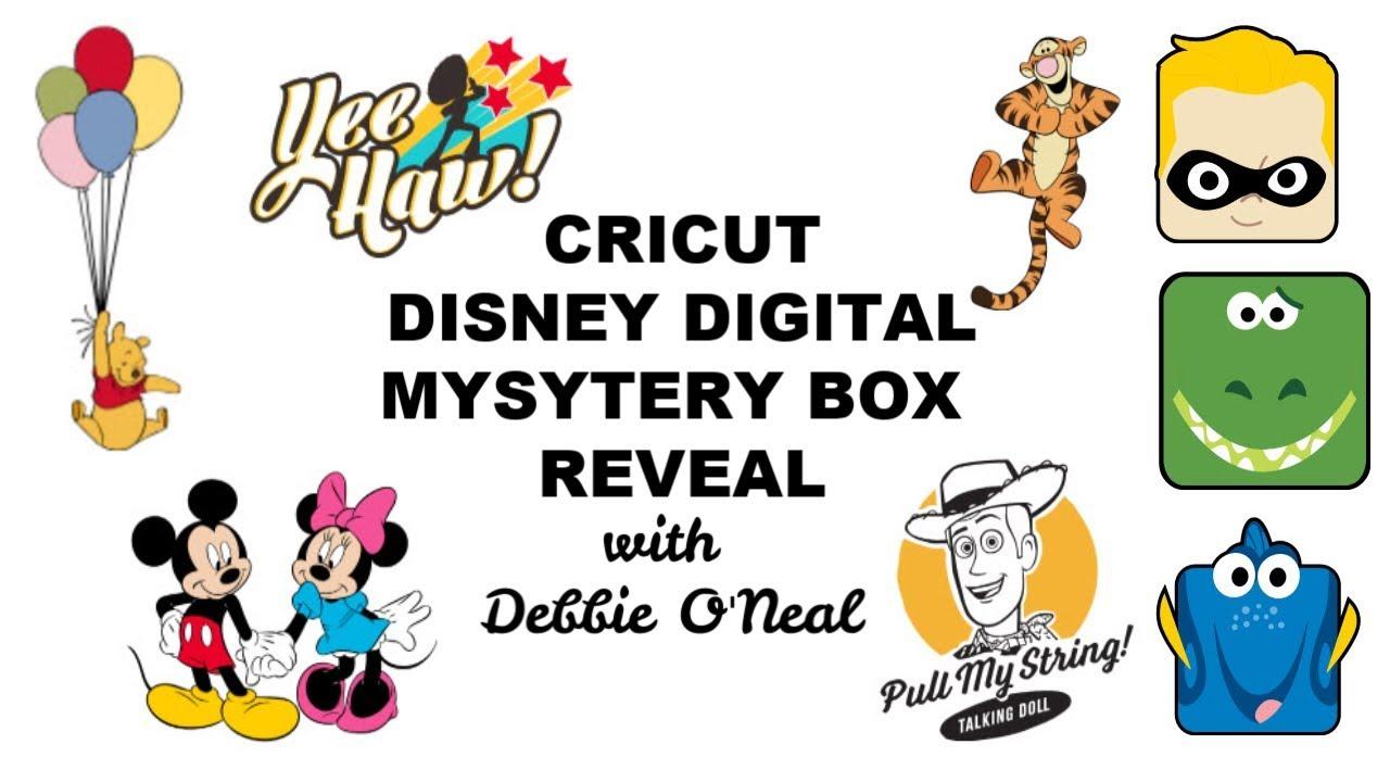 Cricut Disney Digital Mystery Box 2019