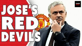 Manchester United under Jose Mourinho | Football Tactics