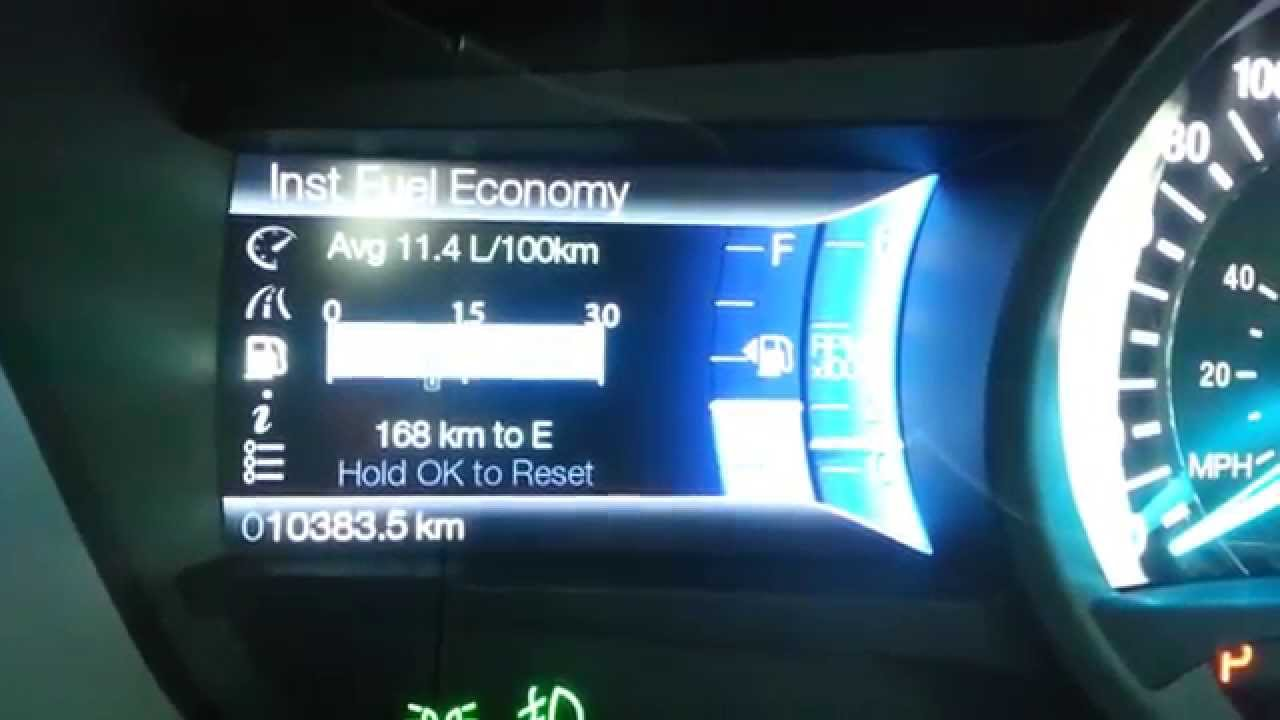 2017 Ford Fusion Fuel Economy Efficiency Fill Up Costs