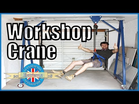 DIY Workshop Crane