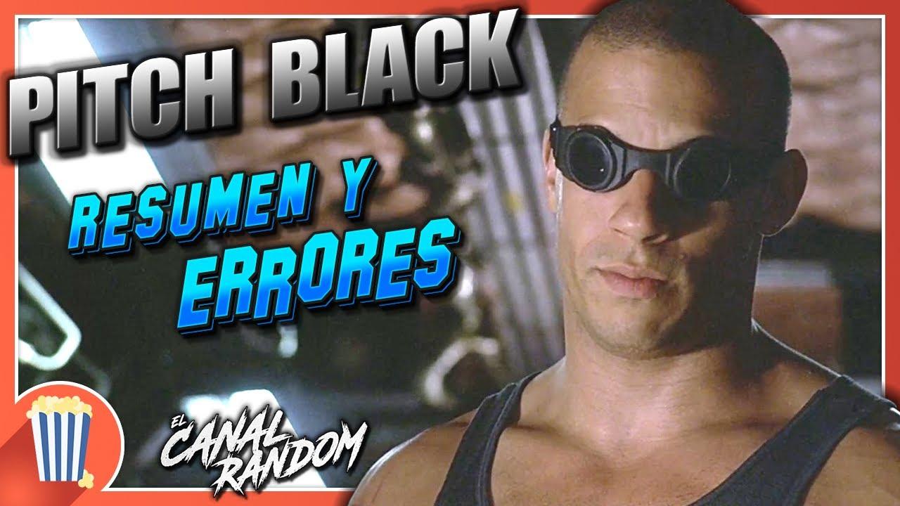 ERRORES de Películas PITCH BLACK - Crítica y Resumen RIDDICK