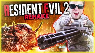 [FINAŁ] JA + MINIGUN + OSTATECZNA FORMA WIRUSA G | Resident Evil 2 Remake [#14] #BLADII
