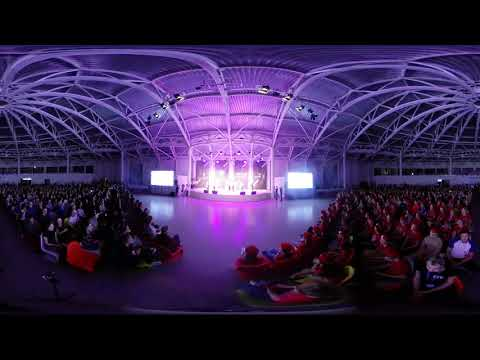 Торжественная церемония открытия 5-й смены в ВДЦ «Смена». Версия 360°