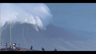 Гигантские волны 🌊 на Атлантическом Вале (Какая сила и красота!)🗽