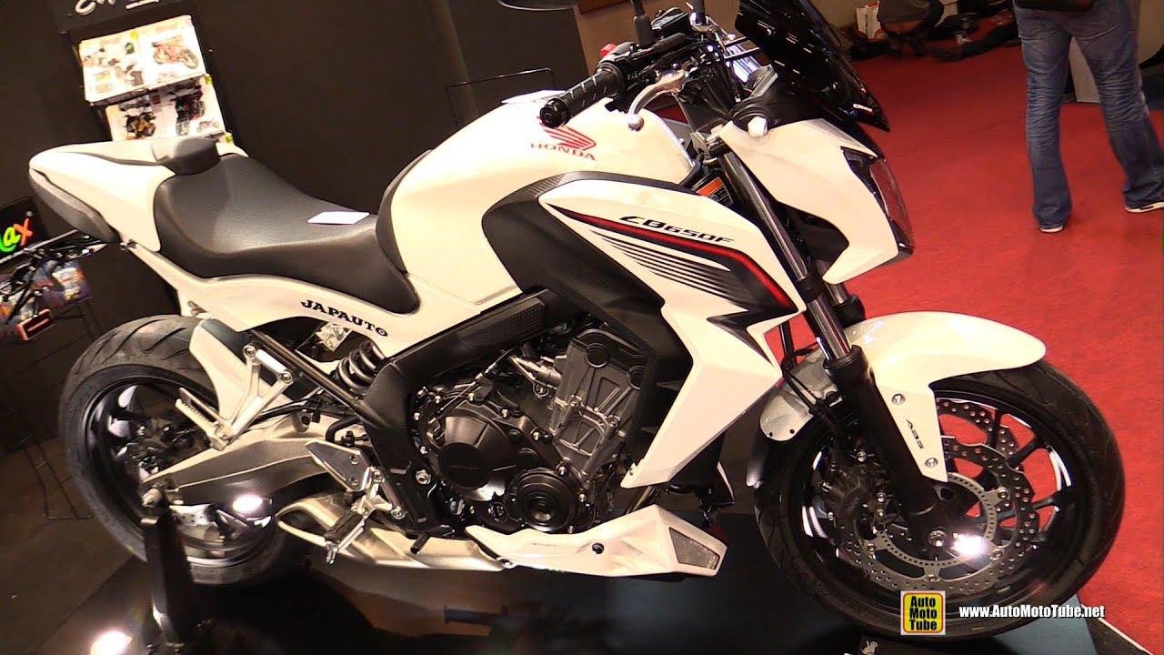 2016 honda cb650f customized by ermax walkaround 2015 - Salon de la moto 2013 ...