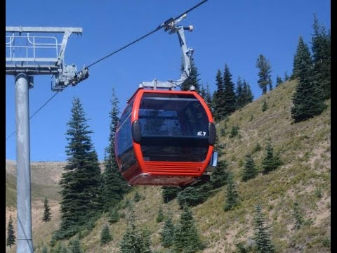 Enjoy the excellent views of the ski area basin and silver creek valley. Gondola Lift To Crystal Mountain Summit To See Mt Rainier Summer Time Youtube