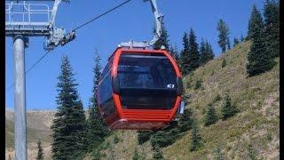 Gondola Lift to Crystal Mountain Summit to see Mt  Rainier summer time