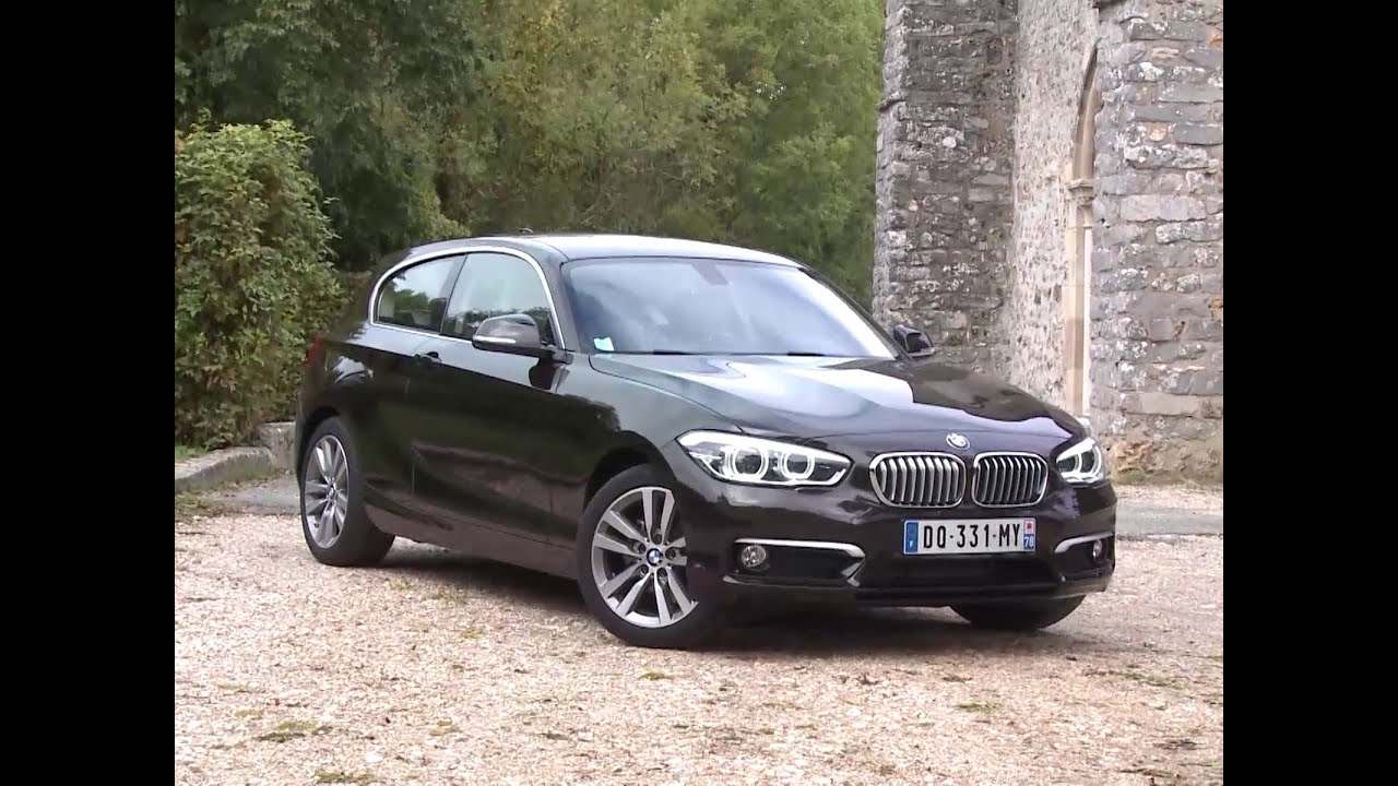 essai bmw 116i urban chic 2015 youtube. Black Bedroom Furniture Sets. Home Design Ideas