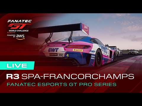 LIVE   Fanatec Esports GT Pro Series - Spa