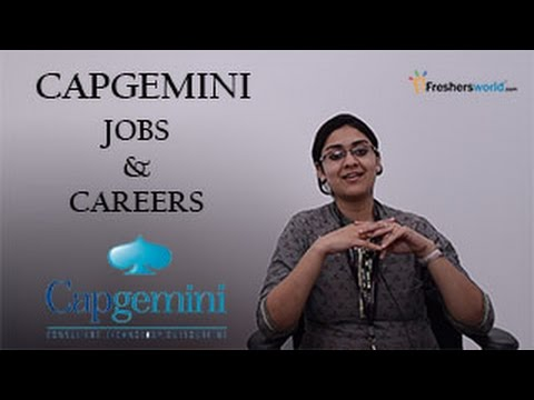 Capgemini Recruitment 2019 For Freshers Latest 255 Capgemini jobs