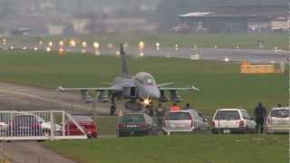 Gripen NG Demonstrator at Emmen Jan. 2013