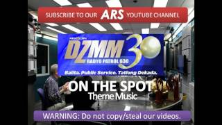 DZMM On The Spot theme music