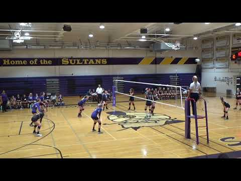 Santana High School vs Foothills Christian High School First Set