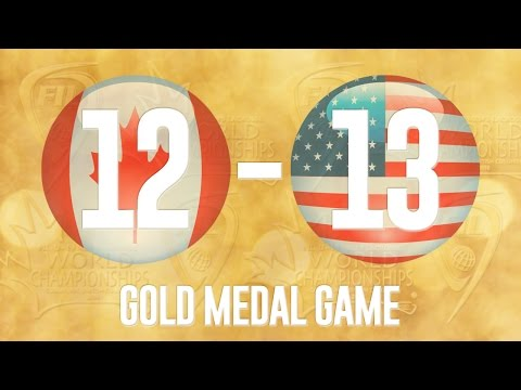 2016 FIL U19 Men's Lacrosse Championship - Gold Medal Game - Canada vs USA