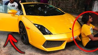INDIAN Funny Reaction to Supercars | OMG | MUST WATCH | Funny Reactions !!!