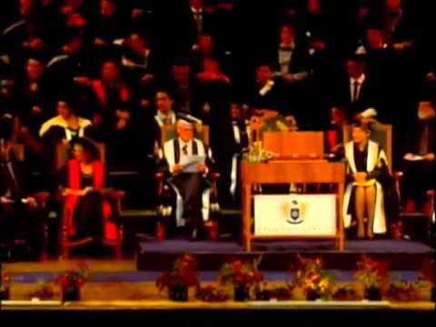 Graduation May 2012: Wellington | Ceremony 1 | Massey University
