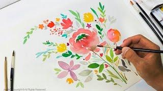 DIY Greeting Card / Watercolor Painting - Level 3