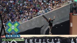 Elliot Sloan wins Skateboard Big Air gold | X Games Minneapolis 2017