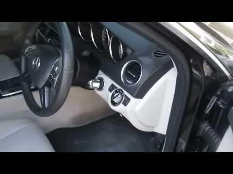 รถเก๋งมือสอง รถราคาถูก Mercedes Benz (เมอร์เซเดส-เบนซ์) C200 สีดำ ปี 2013 เครื่อง 1.8 C #UC54