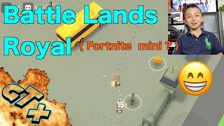 Battle Lands Royale iOS , Playing Fortnite like Game ... really cool , Fortnite like emotes ?