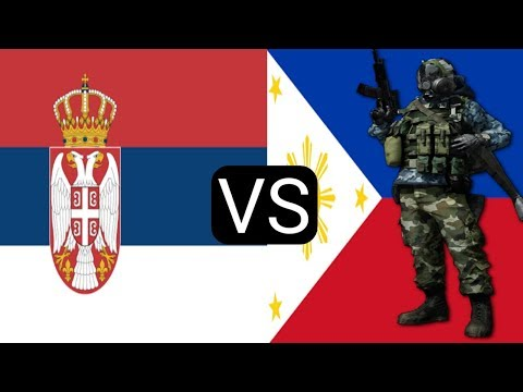 Philippines Military Power VS Serbian Military Power 2018