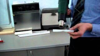 Восстановление трубы REHAU с помощью строительного фена.(Испытание трубы RAUTITAN HIS замораживанием и последующим ударом по ней на испытательном стенде,потом при нагре..., 2012-02-16T15:02:12.000Z)