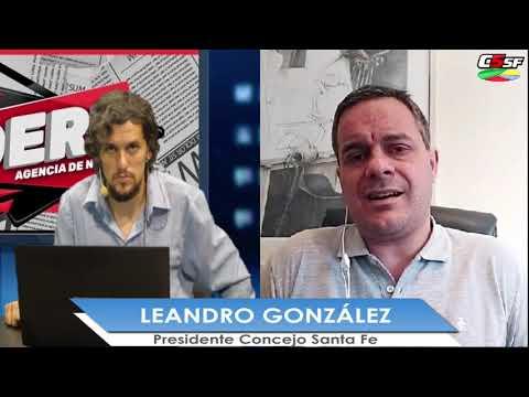 Leandro González: Esta gestión municipal ha ordenado el barco desde lo financiero