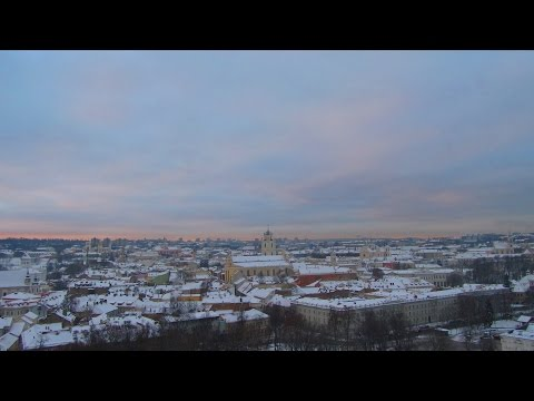 Vilnius Old Town (Winter Walking Trip)