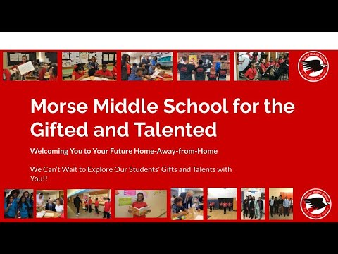 Morse Middle School for the Gifted and Talented 2021 Staff Recruitment Video