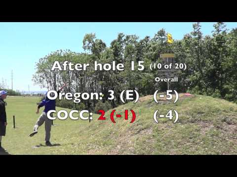 "2014 NCDGC Round 1, ""Rivalry Round"" Oregon vs Central Oregon Community College"