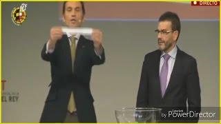 SORTEO OCTAVOS DE FINAL COPA DEL REY !!! (RESUMEN)