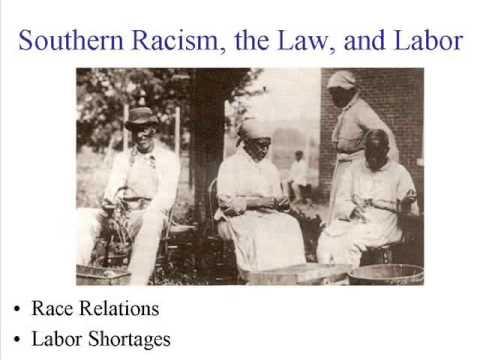 Post-Civil War America