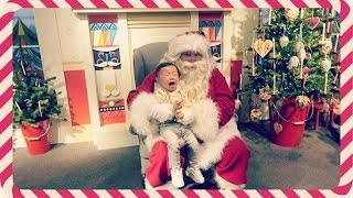 Vlog: He Loves Santa | HAUSOFCOLOR