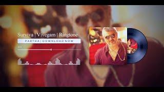 Surviva - Vivegam | BGM Ringtone | 2020 || PARTHA | Easy Download Link