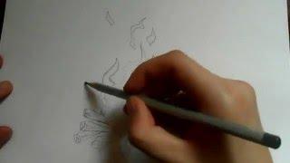 Видео: как нарисовать огонь?(обучающее видео по рисованию огня простым карандашом поэтапно для начинающих., 2016-01-04T09:38:51.000Z)