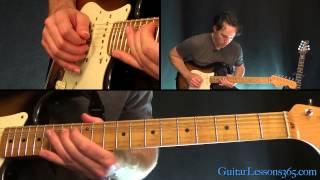 Voodoo Child (Slight Return) Guitar Lesson Pt.2 - Jimi Hendrix - 1st Solo