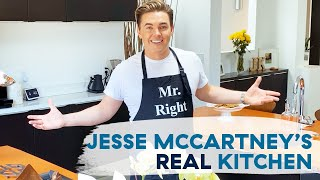 Jesse McCartney Shows Us What His Home Kitchen Looks Like