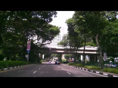 Creative Vado 3G: Day Drive along Nicoll Highway (SG)