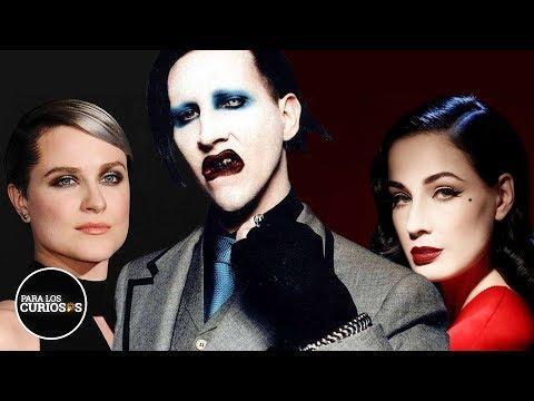 Así Es Marilyn Manson Con Sus Mujeres