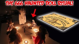THE HAUNTED 6 DOLL RITUAL GONE TERRIBLY WRONG (666) | MOE SARGI