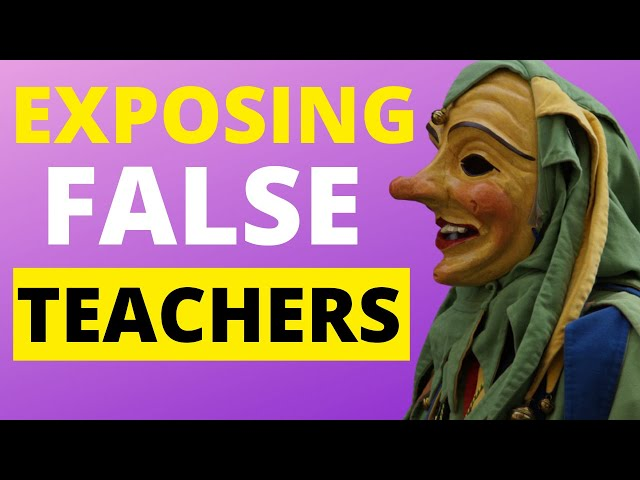 If Your Favourite Preacher is Now a False Teacher - WATCH THIS