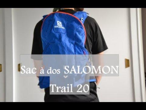 Nouveaux produits 6d012 4d19c Présentation du sac à dos SALOMON Trail 20
